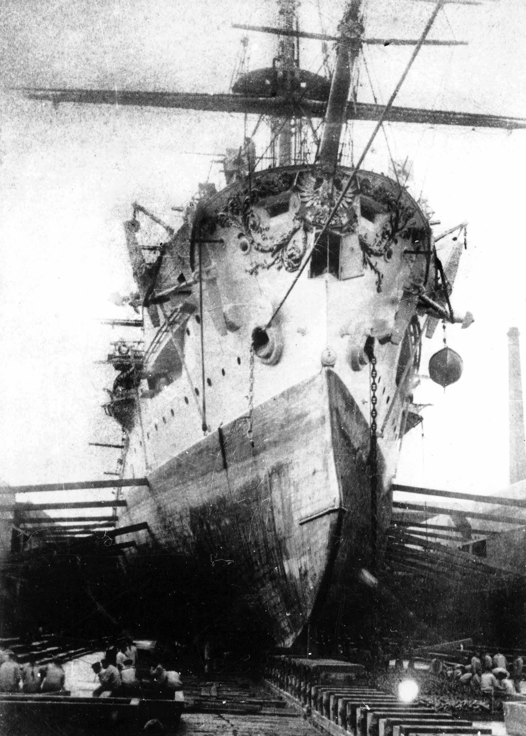 Броненосный крейсер рюрик после
